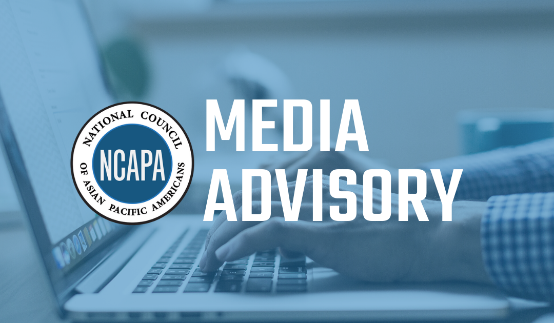 MEDIA ADVISORY: 2020 Presidential Campaigns to Join Twitter Townhall Hosted by AAPI Community Organizations