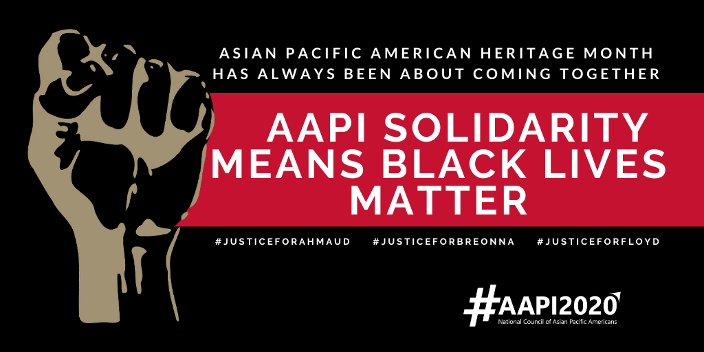 The National Council of Asian Pacific Americans Statement in Solidarity with the Black Community